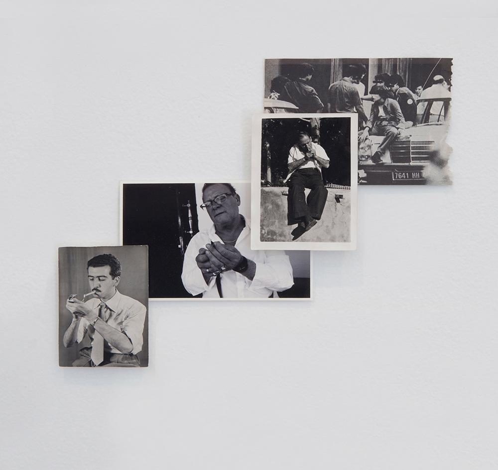 """""""Encendiendo cigarrillos"""", fotografía, 29x23 cm. Valle Galera, 2016"""
