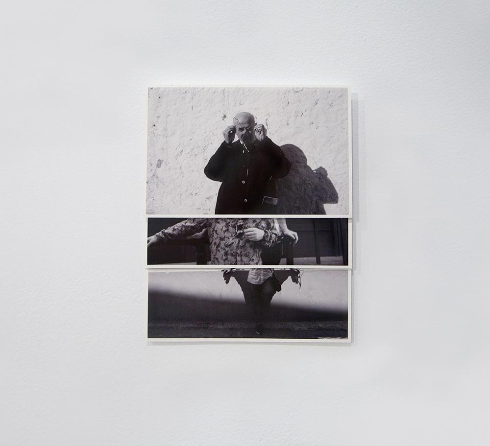 """""""Agarrando gafas"""", fotografía, 18,5x14 cm. Valle Galera, 2016"""