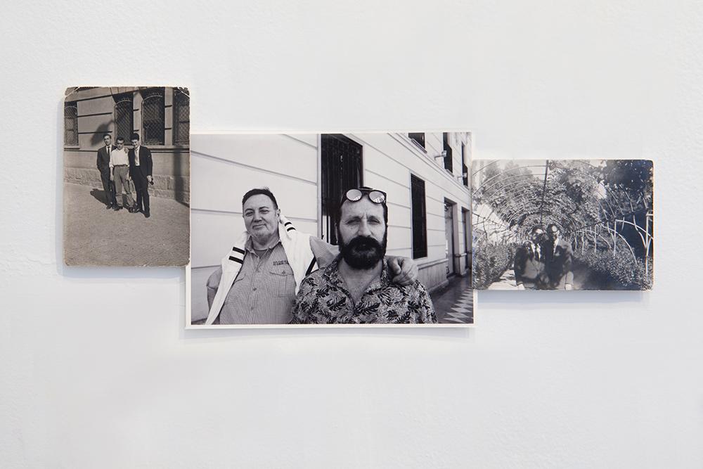 """""""Brazos apoyados"""", fotografía, 14x34 cm. Valle Galera, 2016"""