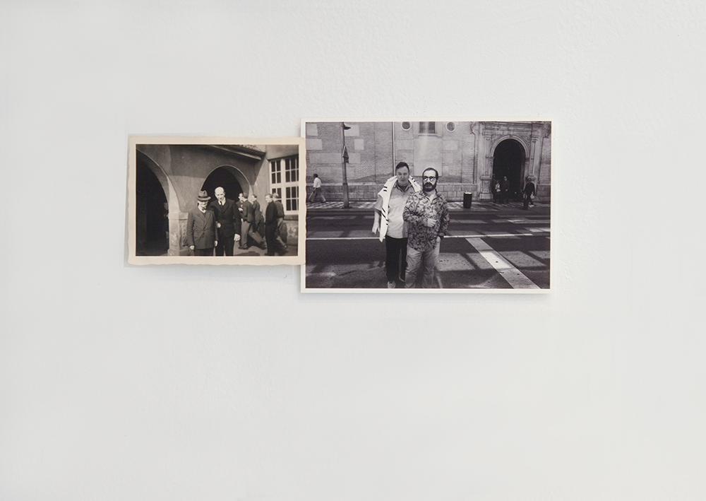 """""""Parejas"""", fotografía, 8,5x20,5 cm. Valle Galera, 2016"""