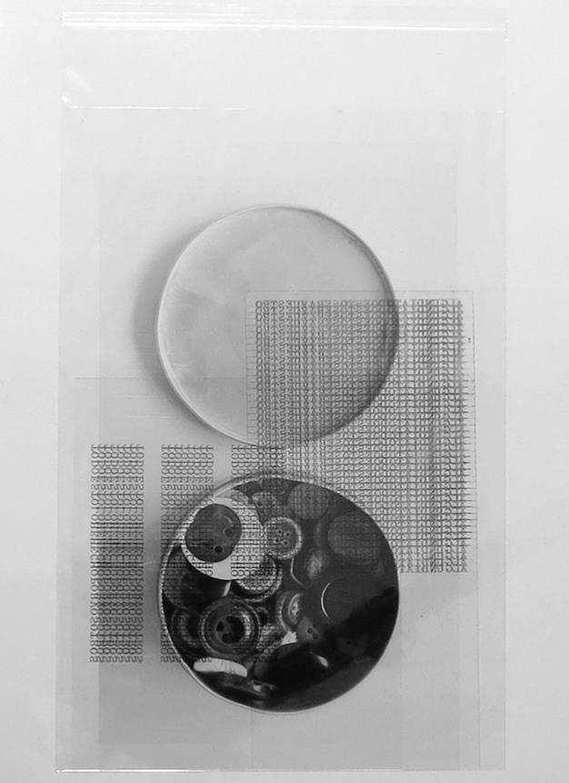 """""""Inventario"""", técnica mixta, 30x20 cm. Tito Pérez Mora, 2013"""