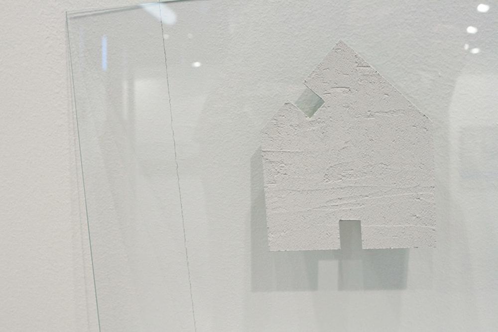 """""""Casa de ceniza"""", técnica mixta, 50x70 cm. Tito Pérez Mora, 2013"""