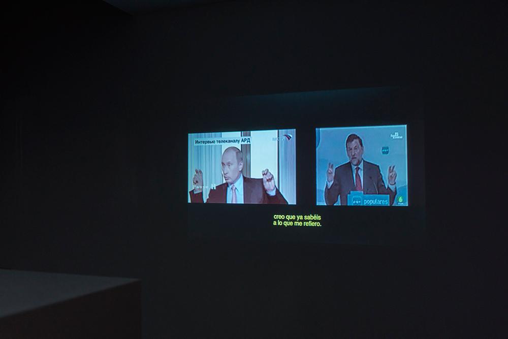 """""""Gestos políticos, políticas del gesto"""", vídeo monocanal, 8' 22''. Marla Jacarilla, 2017"""