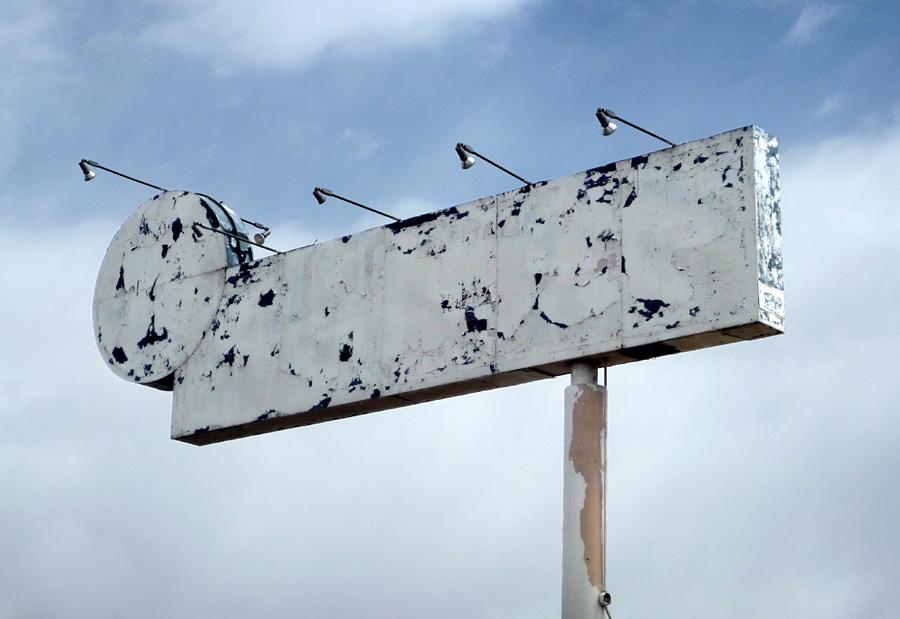 """Las Vegas, abril de 2009"", fotografía digital impresa, 60x38cm. Daniel Vega Borrego, 2009"