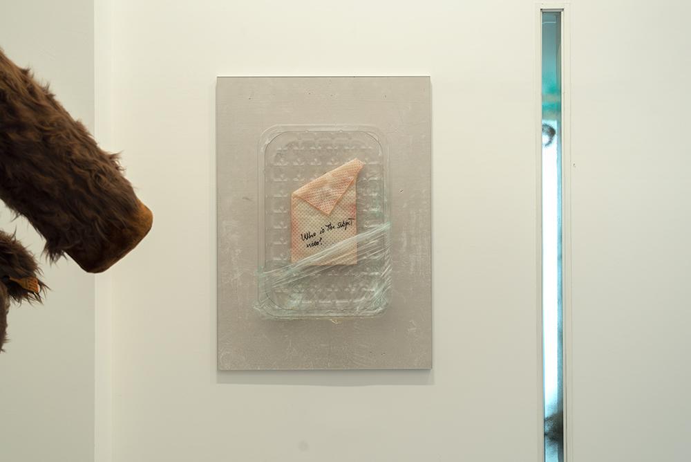 """""""Absent referents, Plastic tray #1"""", impresión inkjet sobre sobre papel Canson, montado sobre una plancha y moldura de aluminio, 130x95 cm. Manuel Franquelo-Giner, 2017"""
