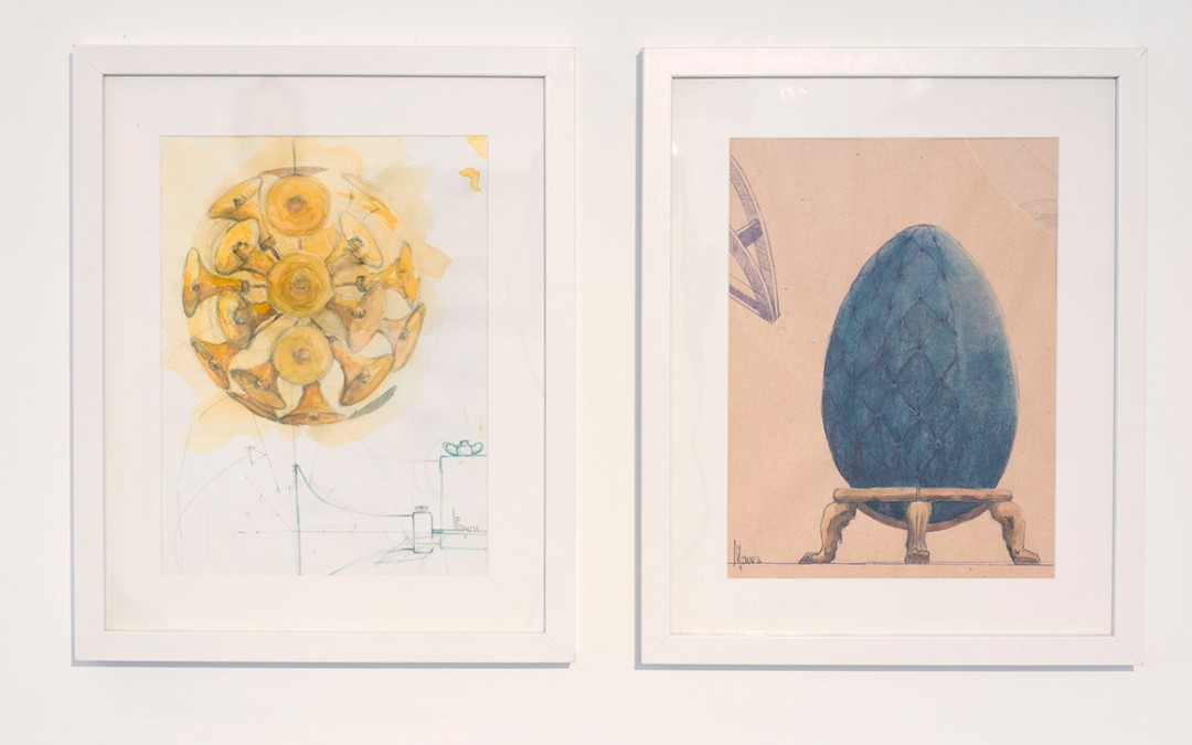 Bocetos de las obras presentadas, Carlos Nicanor
