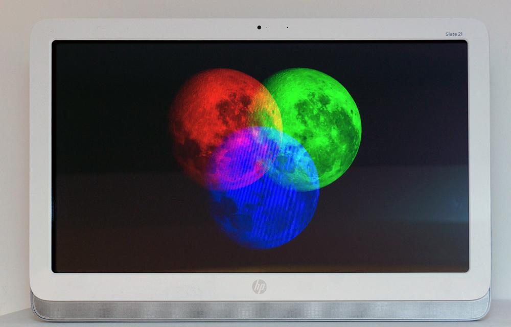 """""""Libración RGB"""", vídeo 4 ́ Loop, Salim Malla, 2015"""