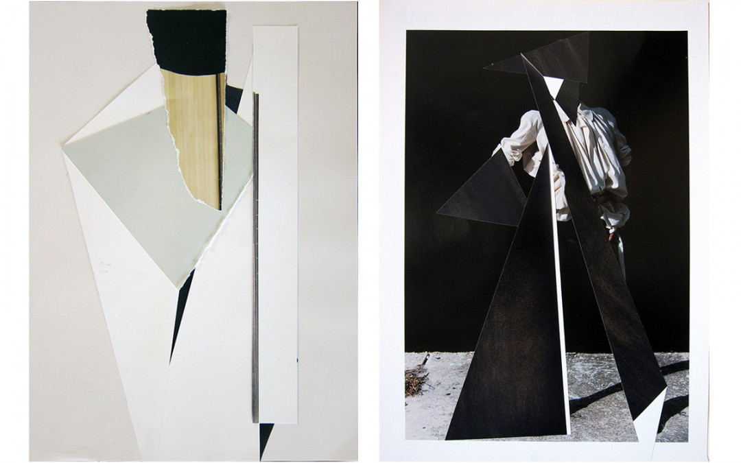 """""""Abstracto III"""" y """"Vanguardia y erosión"""" Ubay-Murillo"""
