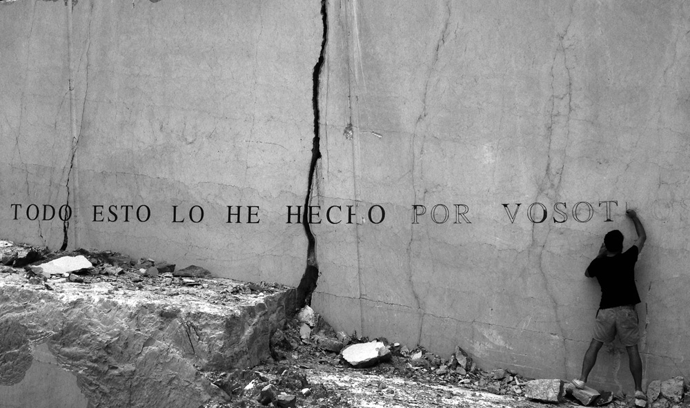 """Sin título"", fotografía digital impresa, 72x52 cm. Tito Pérez Mora, 2014"