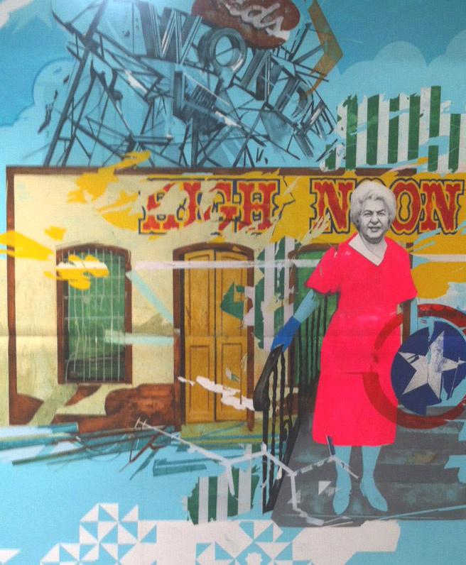 """Wonder Life"", acrílico sobre papel, 98x134 cm. Yani Alonso, 2013"