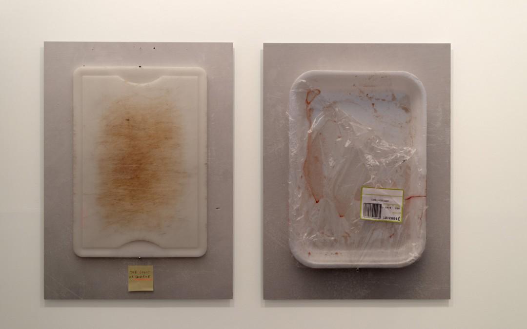 """""""Sacrifice"""" y """"The promise"""", impresión inkjet sobre papel canson, montado en panel de aluminio, 130x95 cm. Manuel Franquelo Giner, 2014"""
