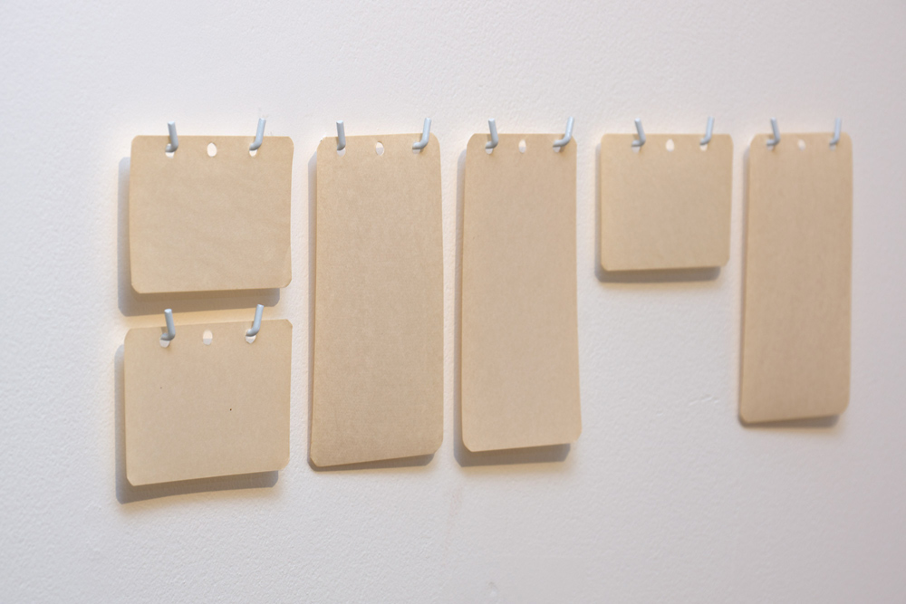 """Futuro compuesto nº2"", composición de papeles, 42x29,7 cm. Theo Firmo, 2014"