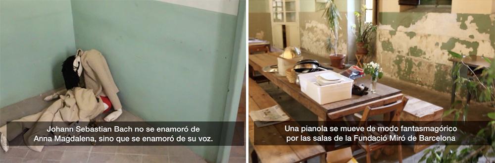 """""""26 variaciones sobre la ínfima posibilidad"""", vídeo. Color, audio, subtítulos, 15'45''. Marla Jacarilla, 2014"""