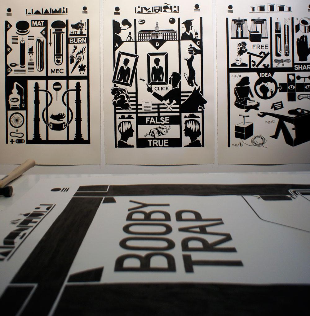 """Láminas seleccionadas de """"Manual"""", Pepe Medina, 2012"""