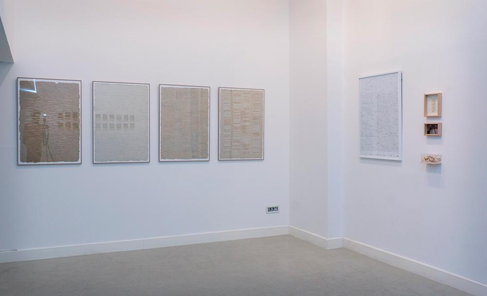 """""""Cartografías distópicas"""", """"La integridad o el discurso"""" y """"The story of Alice and Joaquin"""". Marla Jacarilla, 2017"""