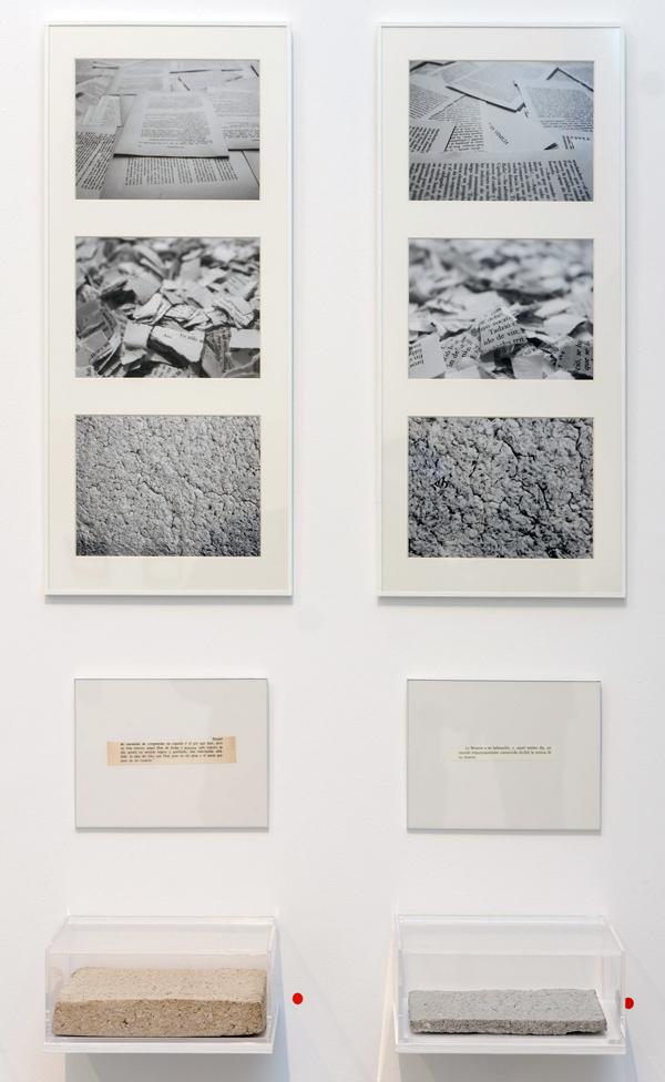 """Detalle de instalación """"El fin y la persistencia"""": """"Ana Karenina"""" y """"Muerte en Venecia"""". Marla Jacarilla, 2014"""