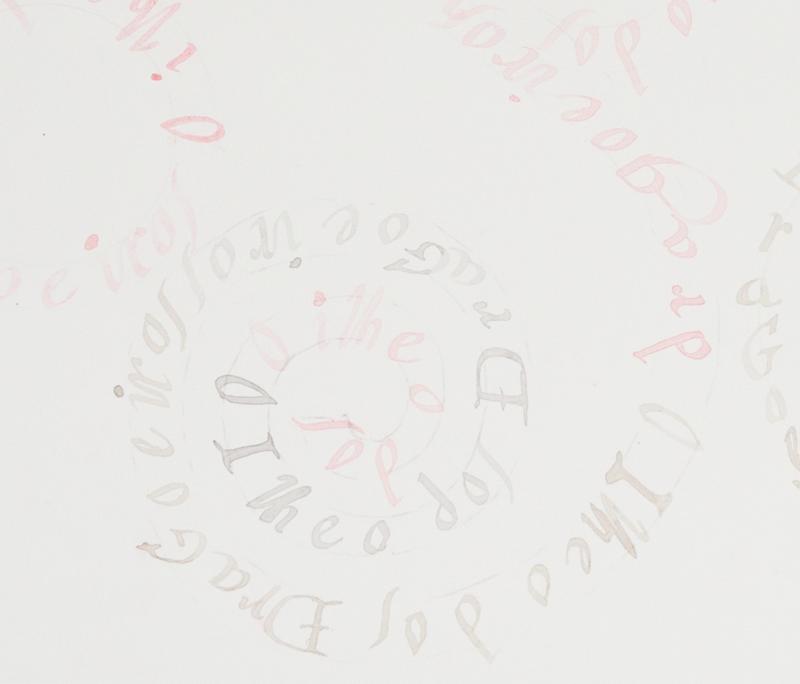 """Detalle de """"Sin título"""", serie Flores; frutos; hojas; savia; tallo – O GRANDE ATLAS DO MUNDO. Acuarela y grafito sobre papel. Nuno Henrique, 2014"""