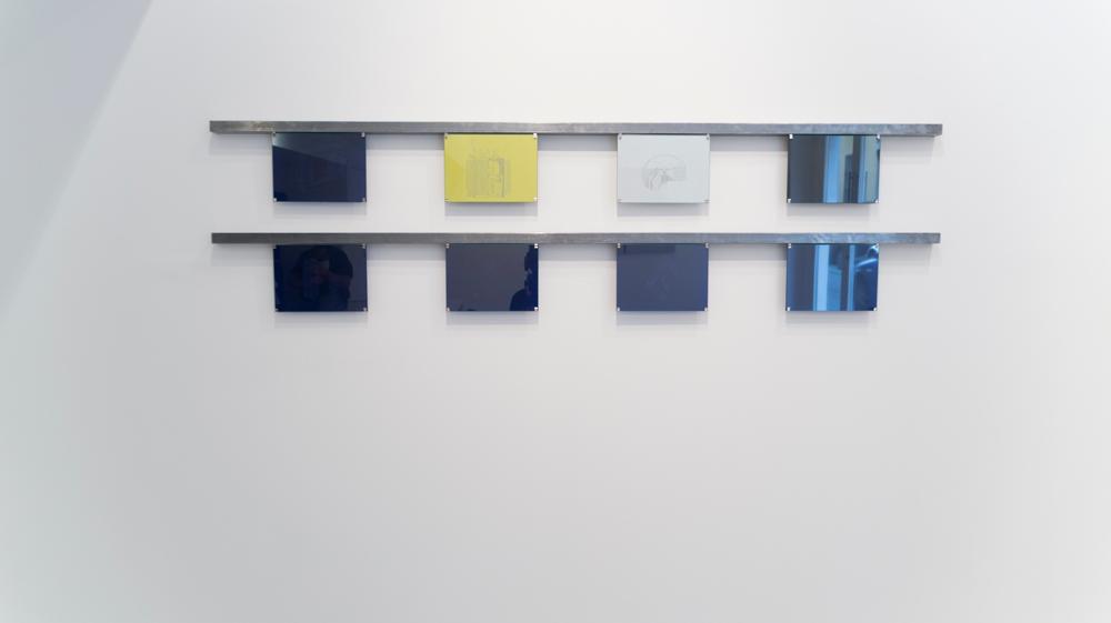 """Serie """"Transformadores"""", dibujo en papel de calco, 18,5x25,5 cm. Gema Rupérez, 2015"""