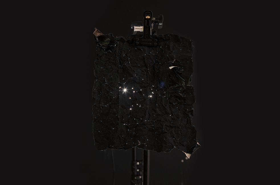 """""""Tropical Ornament 06"""", tintas pigmentadas sobre papel fotográfico, 74x86 cm. Julio Galeote, 2015"""