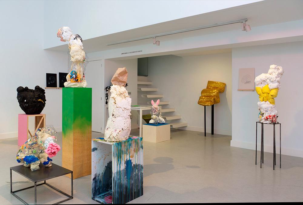 """Vista de la sala en """"El coleccionista de secretos"""", Javier Chozas, 2017"""